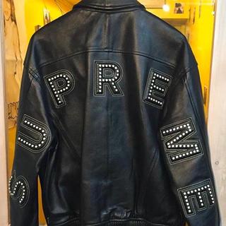 Supreme - supreme studded leather