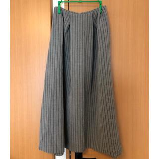 moussy - PIN SKIRTバックジップ ポケット付き フレアスカート