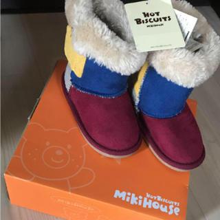 ミキハウス(mikihouse)の値下げ ミキハウス  ムートンブーツ(ブーツ)