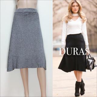 DURAS - DURAS 新品 ニット フレア スカート♡リゼクシー ムルーア エゴイスト