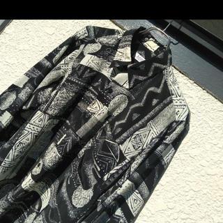 ART VINTAGE - 90s 柄シャツ アートシャツ  春夏 菅田将暉 ビッグシルエット