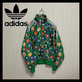 adidas - 【限定】アディダス ジェレミースコット  総柄 ビリヤード トラックジャケット