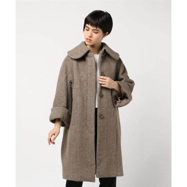 fur fur(ファーファー)のfurfur クラシックコクーンコート アウター コート レディースのジャケット/アウター(ロングコート)の商品写真