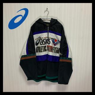 アシックス(asics)の【激レア】90s ASICS アシックス ナイロン マウンテンパーカー(ナイロンジャケット)