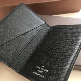 LOUIS VUITTON - 美品 正規品ルイヴィトンタイガ名刺入れ 黒