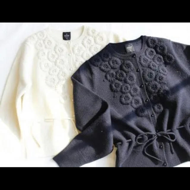 IENA(イエナ)のIENA sese ハンド刺繍 カーディガン レディースのトップス(カーディガン)の商品写真