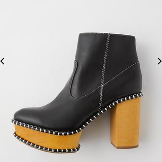 moussy - WOOD SOLE ブーツ
