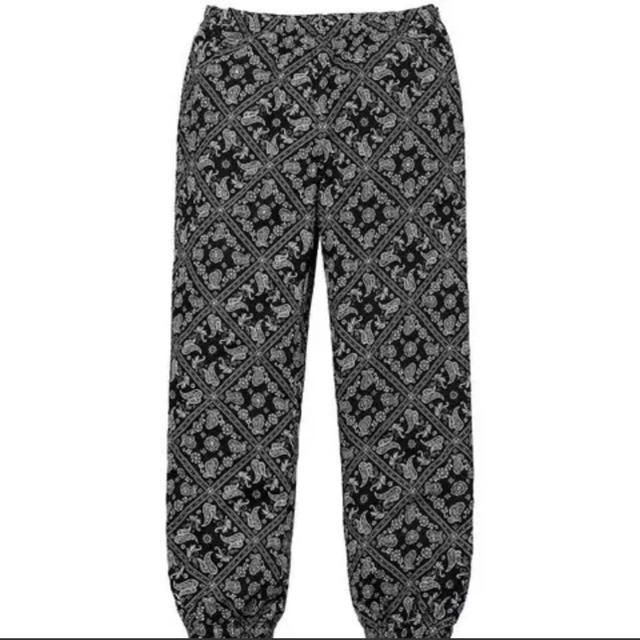 Supreme(シュプリーム)のSupreme Bandana Track Pant Black w32 メンズのパンツ(その他)の商品写真