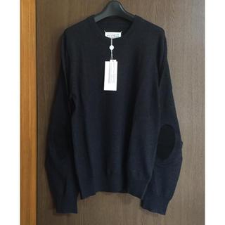 Maison Martin Margiela - 18AW新品M メゾンマルジェラ エルボーパッチ ニット セーター ダークグレー