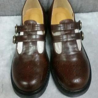 エヘカソポ(ehka sopo)のehka sopo  ダブルTストラップシューズ(ローファー/革靴)