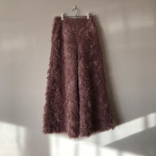 Ameri VINTAGE - SHAGGY WIDE PANTS エコファー