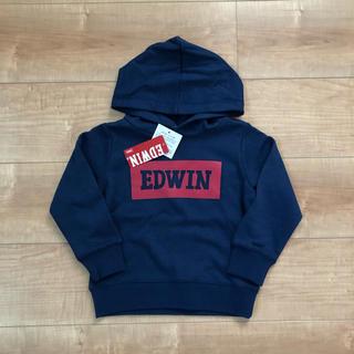 EDWIN - 新品 EDWIN キッズ パーカー 100サイズ