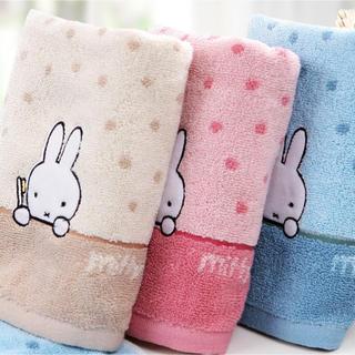 新品 タオル 3色3枚セット ミッフィー miffy 綿 ギフト