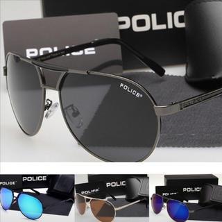 ポリス(POLICE)のカッコいいポリスサングラスシルバー(サングラス/メガネ)