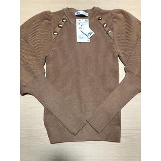 ZARA - ZARA パフスリーブセーター