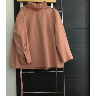 TOMORROWLAND -  MACPHEE マカフィー stand‐up collar