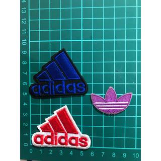 アディダス(adidas)の送込 アディダス アイロンワッペン  3点セットA(各種パーツ)