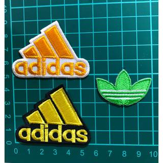 アディダス(adidas)の送込 アディダス アイロンワッペン  3点セットB(各種パーツ)