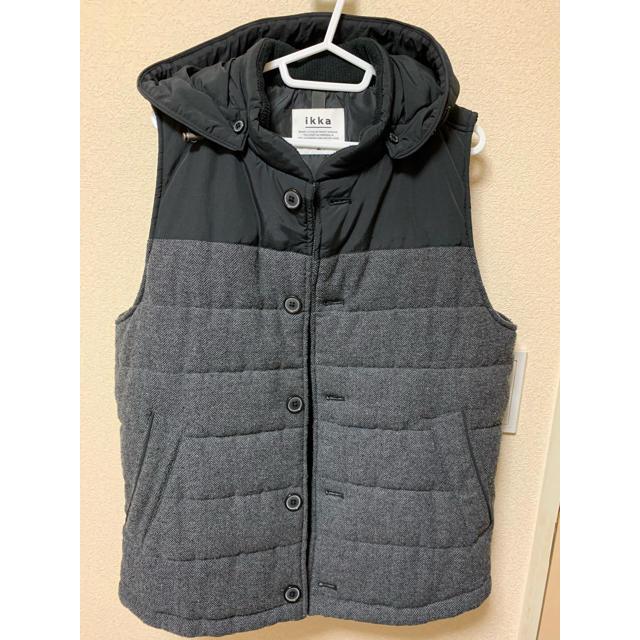 ikka(イッカ)の【ikka】 ダウンベスト メンズのジャケット/アウター(ダウンベスト)の商品写真