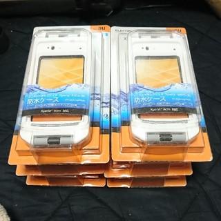 エレコム(ELECOM)の6個セット★Xperia acro IS11S専用防水ケース(Androidケース)