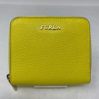 Furla - 美品☺︎FURLA フルラ ミニ財布 二つ折り財布 イエロー 黄色