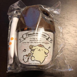 サンリオ(サンリオ)のポムポムプリン コップハミガキセット(歯ブラシ/歯みがき用品)