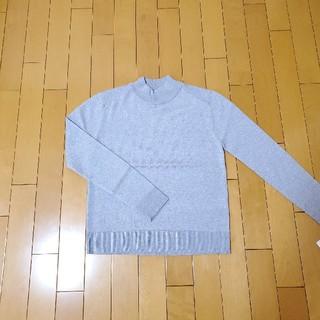 ダブルスタンダードクロージング(DOUBLE STANDARD CLOTHING)のダブルスタンダードクロージング ニット トップス グレー(ニット/セーター)