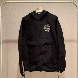 アンチ(ANTI)のAnorak jacket anti social social club(ナイロンジャケット)