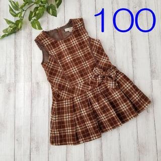 エニィファム(anyFAM)の美品 / anyFAM / エニィファム ワンピース 100(ワンピース)