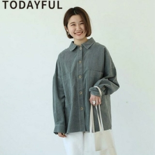 トゥデイフル(TODAYFUL)のTodayful ブラッシュボーイフレンドシャツ (シャツ/ブラウス(長袖/七分))