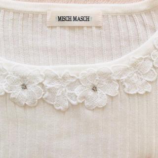 MISCH MASCH - MISCH MASCH フラワーニット