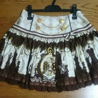 アンジェリックプリティー(Angelic Pretty)のchess chocolateスカート(ミニスカート)