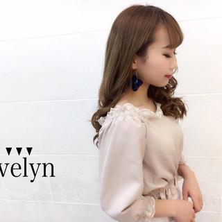 エブリン(evelyn)の新品 エブリン  オフショルカットソー(カットソー(長袖/七分))