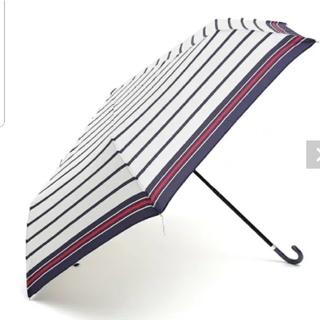 AfternoonTea - 新品 Afternoon Tea マリンボーダー折りたたみ傘 雨傘