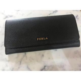 Furla - 美品 フルラ  長財布 ブラック