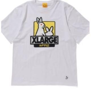 XLARGE -  XLARGE #FR2 Fxxk Icon Tee 白 Lサイズ