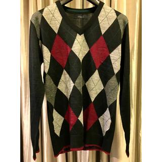 RAGEBLUE - RAGEBLUE メンズ Vネックセーター