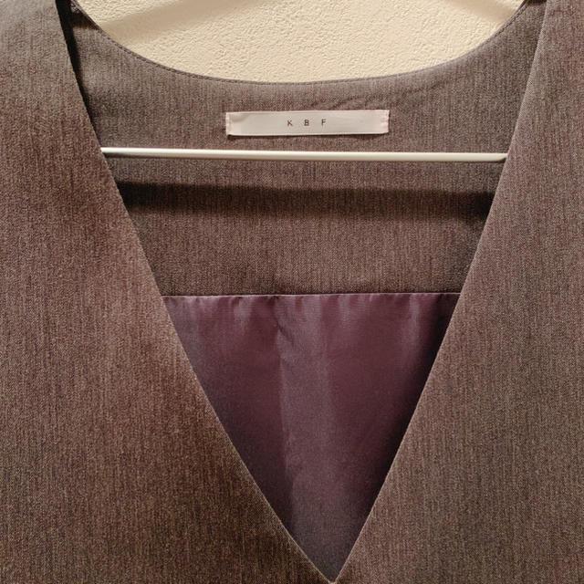 KBF(ケービーエフ)のKBF ジャンパースカート レディースのワンピース(その他)の商品写真