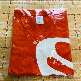 ☆新品 カーブス Tシャツ オレンジ バタフライ SA(Tシャツ(半袖/袖なし))