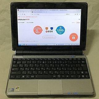 エイスース(ASUS)のEee PC 1000HE OS付き(ノートPC)