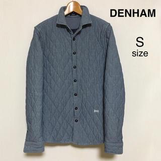 デンハム(DENHAM)のDENHAM(デンハム) デニム シャツジャケット キルティング 中綿入り S(その他)
