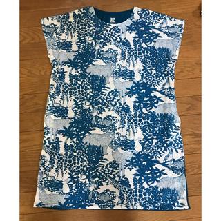 グラニフ(Design Tshirts Store graniph)のグラニフ チュニックワンピ アニマル柄(チュニック)