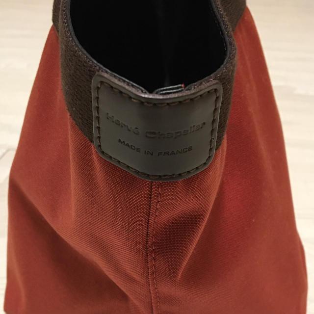 Herve Chapelier(エルベシャプリエ)の【美品】エルベ シャプリエ コーデュラナイロントート 707C Mサイズ レディースのバッグ(トートバッグ)の商品写真