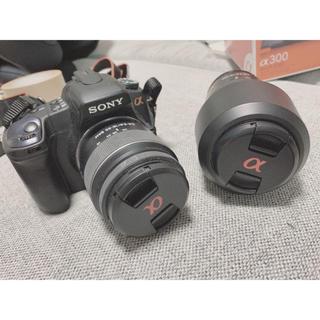 SONY - 【美品】SONY 一眼レフ 望遠レンズ・アイカップ・関連本付き
