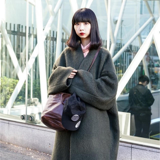 LAD MUSICIAN - ladmusician COLLARLESS BIG CHESTER COAT