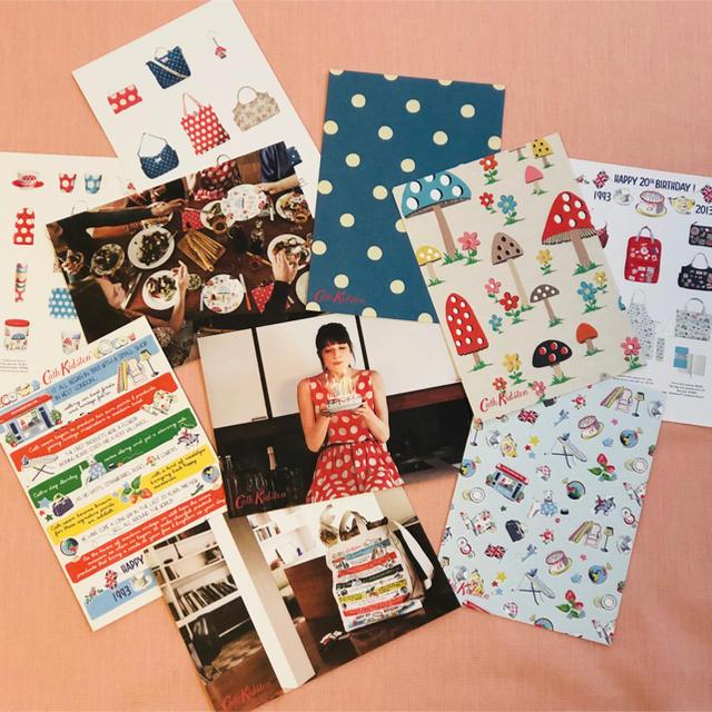 Cath Kidston(キャスキッドソン)のキャスキッドソン 非売品 ポストカード その他のその他(その他)の商品写真