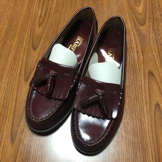 ハルタ(HARUTA)のHARUTA ローファー 赤(ローファー/革靴)