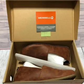 MERRELL - MERRELL  メレル メンズ 革靴 モカシン スリッポン