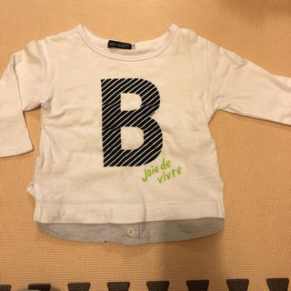 BeBe - BeBe ロンT Tシャツ カットソー  べべ レイヤード 100