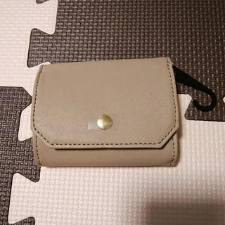 ジーユー(GU)のgu ミニウォレット ベージュ(財布)